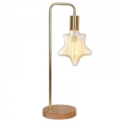 Lampe brook laiton