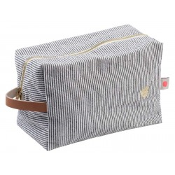 Trousse cube Finette Caviar GM